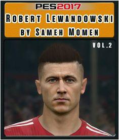 Robert Lewandowski Face Hair For PES 2017 2019 Credit Sameh Momen Download Link CLICK HERE Robert Le