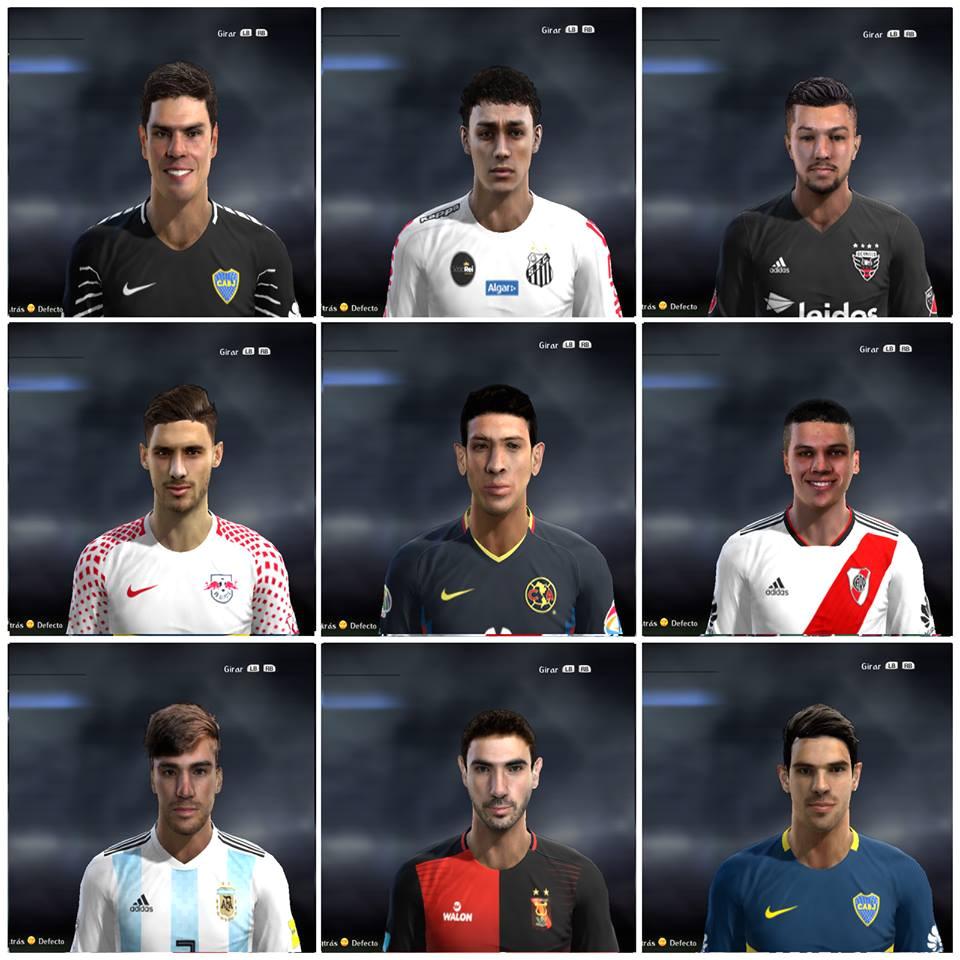 5 For PES2013 by Facemaker LER Download Super FacesPack Update 5 by LER