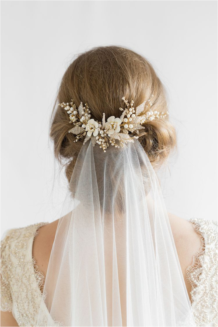 Our favourite wedding hairstyles with veils wedding updos with veil 3