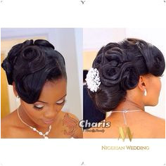 Nigerian wedding black bridal hair ideas and inspiration 23 Black Bridesmaids Hairstyles Black Wedding Hairstyles