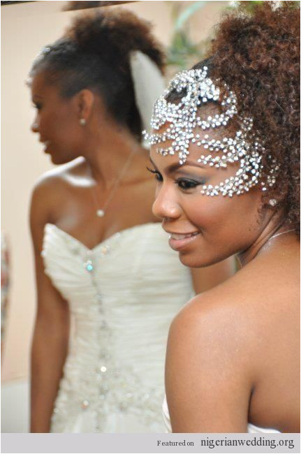 Nigerian wedding hair 15 Gorgeous Hairstyles For The Natural Hair Brides