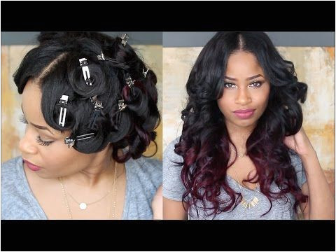 How To PIN CURL THAT HAIR [Video] Black Hair Information munity