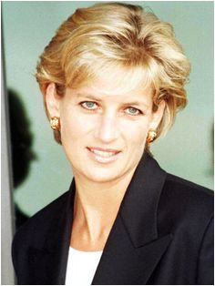 January 13 1997 Diana Princess of Wales upon her arrival at the Luanda