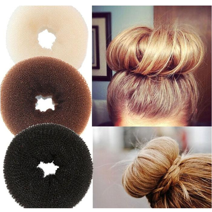 Plate Hair Donut Bun Maker Magic Foam Sponge Hair Styling Tools Princess Hairstyle Hair Accessories Elacstic Hair Bands Bun Maker Hair Hair Bun Makers From