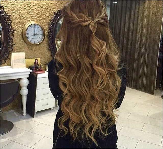Prom Hairstyles Half Up Half Down Braid Braided Half Updo Hairstyles In 2018 Pinterest