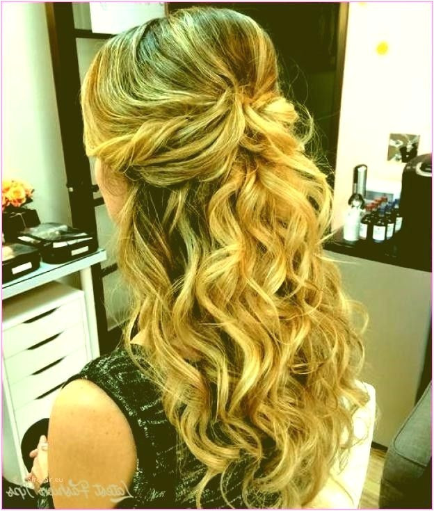 Half Up Half Down Curly Prom Hairstyles Inspirational Prom Hairstyles for Short Hair Half Up Half