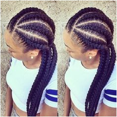 black girl gym hairstyle corn rows braids Braids For Black Women Cornrows Cornrows With Weave