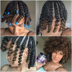 flat twist out natural protective hairstyle for transitioning hair Natural Twist Out Hairstyles Natural Hair