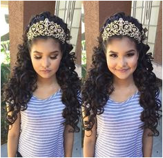 Xovonneyy Tiara Hairstyles Quince Hairstyles Cute Hairstyles Wedding Hairstyles Hair Accessories