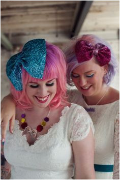 Get Your Glitter Rock n Roll Bride for Crown and Glory Headpiece Collection