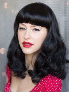 10 Frizura za devojke koje žele nešto ačije od ostalih Mid Length Hair Black Wig
