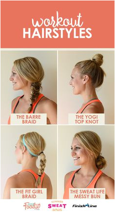 Take your workout hairstyles up a notch and add in some variety Here s some of