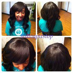Full sew in no leave out Instagram divapitstop BeYOUty Virgin Hair 12 14