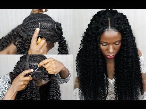 Protective styles · I will be trying this New Technique NO SEW IN Weave NO
