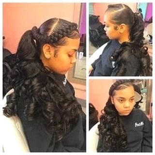 Cute Weave Hairstyles for Teens my weekend believe glamour iphone show sundayfunday autumn hair homemade