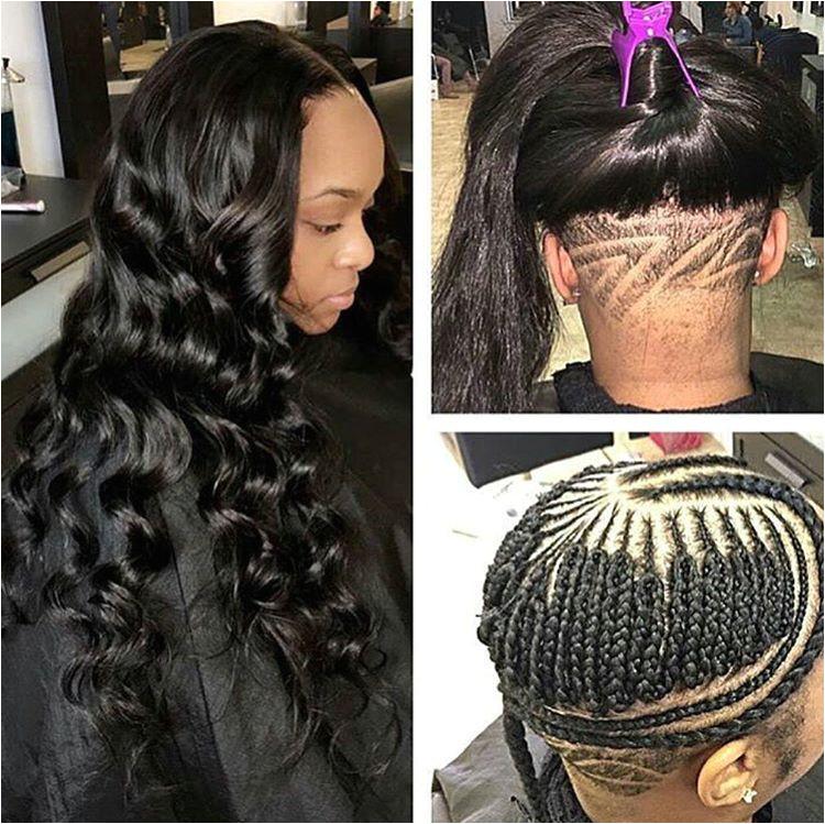 weave underbraids undercut naturalhair braids blackhair longhairdontcare curls curlyhair