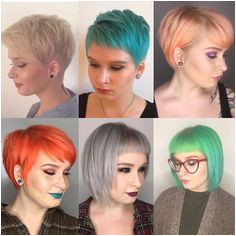 """Trish Sullivan on Instagram """"✨pixie progress ✨ Growing out a pixie doesn t have to be painful This babe emilymetauten has been transitioning from an"""