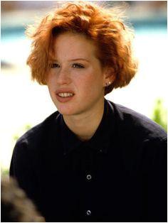 80 s women s short hair Molly Ringwald Short Red Hair Demi Moore Hair Short