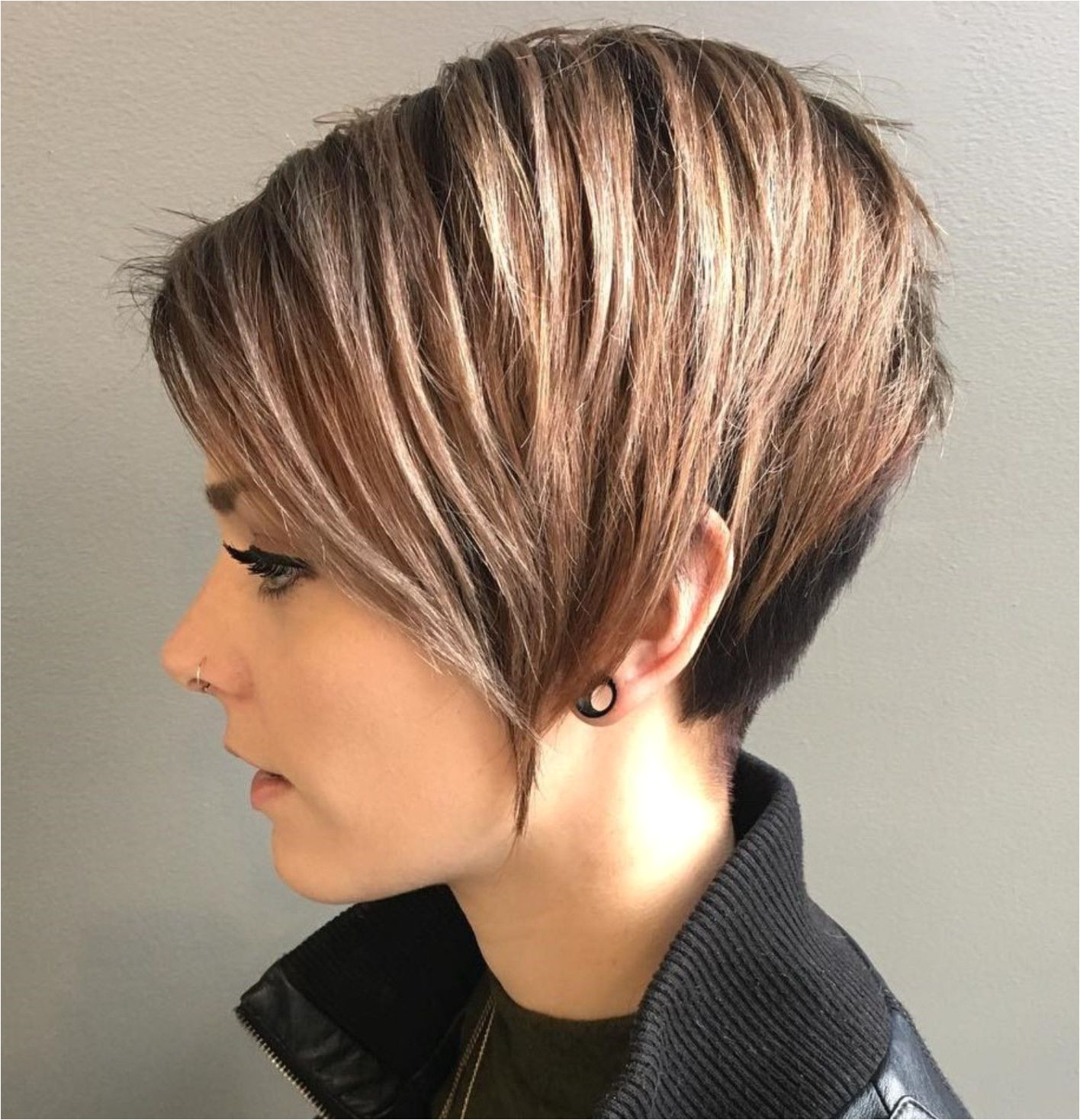 Pixie With V Cut Layers