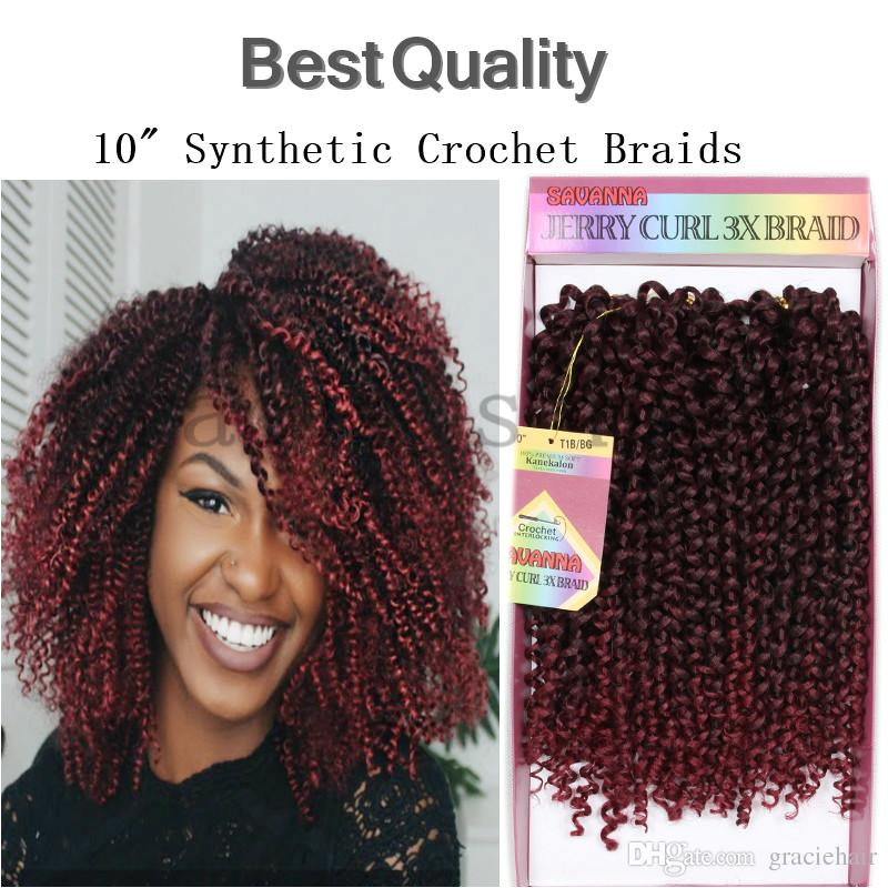 Best quality Short Curly synthetic ombre hair extensions kinky curly crochet braiding hair weave bundles afro kinky curly deep wave