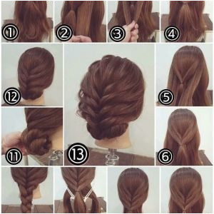 Simple Updos for Short Hair Easy Simple Hairstyles Awesome Hairstyle for Medium Hair 0d