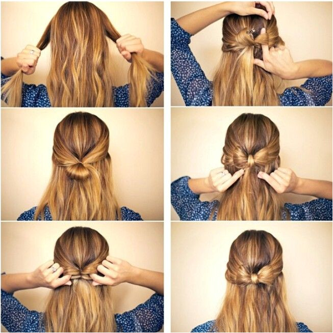 Cute and simple hairstyle ♥