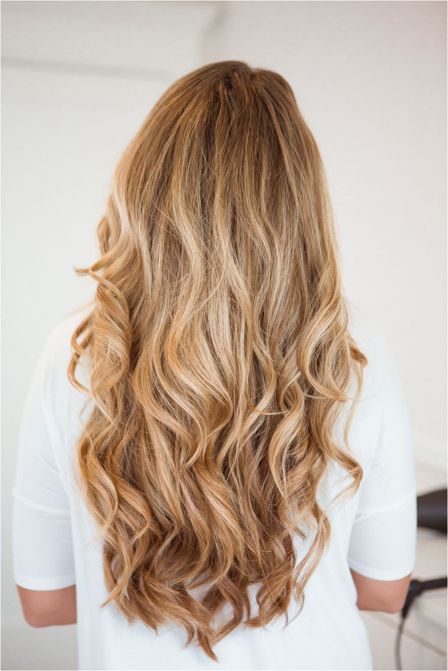 Big soft curls with 1 25 inch curling iron