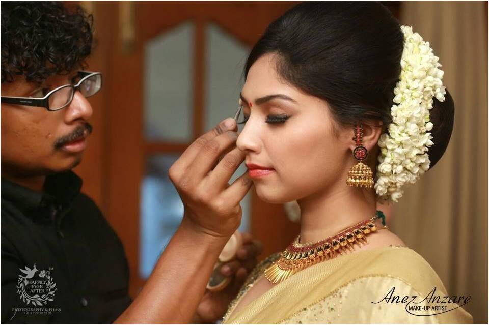 Kerala Bride South Indian Bride Bride Makeup Wedding Makeup Hair Makeup