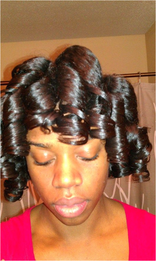 Quick & Easy Roller Set Using the Ponytail Method