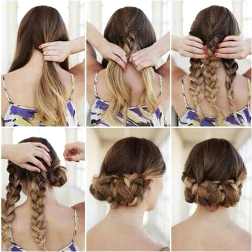 Hairstyles Step by Step Elegant Easy Simple Hairstyles Awesome Hairstyle for Medium Hair 0d Concept