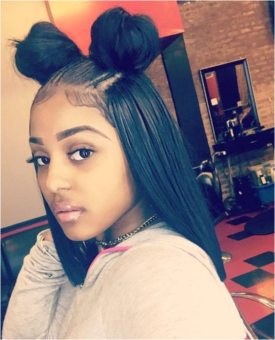 8 Quick Straight Hair Weave Cute Back To School Hairstyles for BLack Girls