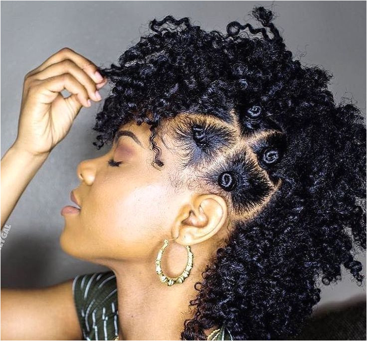 See This Bantu Knot Mohawk Tutorial for an edgy chic look that& great for natural hair This style is perfect for medium to long length hair