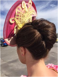 Races Hairstyles with Fascinators