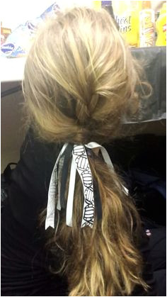 Great volleyball hairstyle