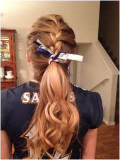 Volleyball hair Athletic Hairstyles Sporty Hairstyles Easy Hairstyles For School Braided Hairstyles