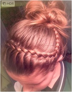 Volleyball hair It s so easy and cute Athletic Hairstyles Basketball Hairstyles Workout
