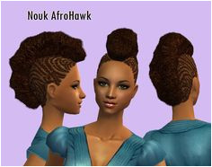 Mod The Sims Nouk FroHawk for la s of all ages smaller textures