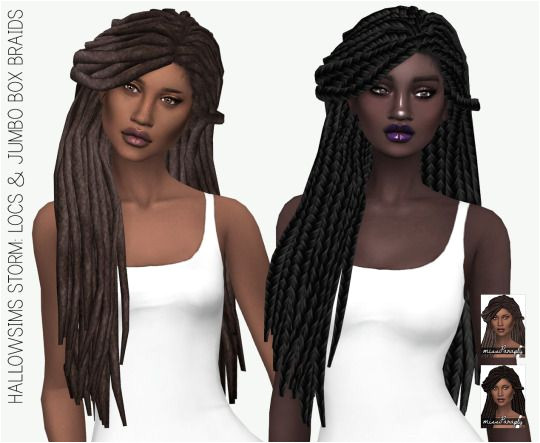 Miss Paraply Hallowsims Storm solids • Sims 4 Downloads Afro Hair Sims 4 Cc
