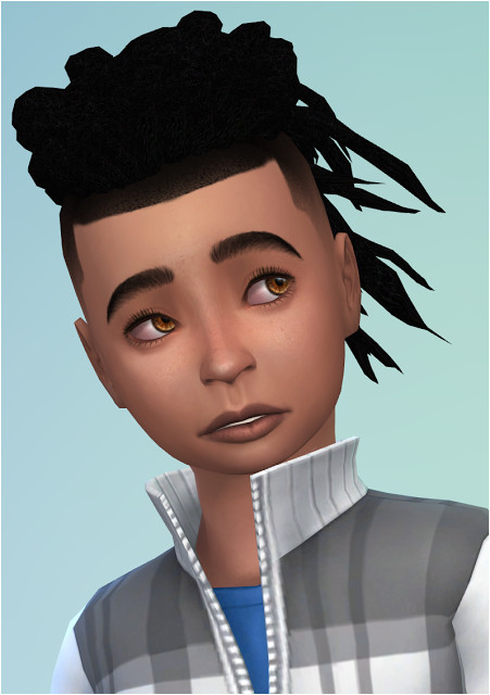 Sims 4 CC s The Best ES Male Hair Converted for Boys by Sheplayswithlif