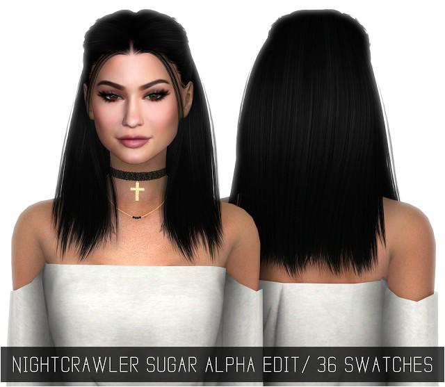 Sims 4 CC s The Best NIGHTCRAWLER SUGAR ALPHA EDIT by simpliciaty