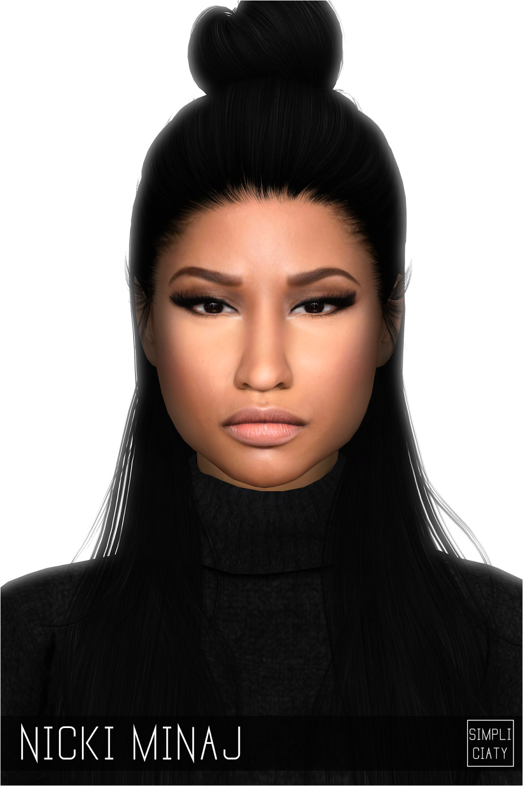 NICKI MINAJ SIM Celebrities Celebs Sims Cc Sims 4 Cas The Sims