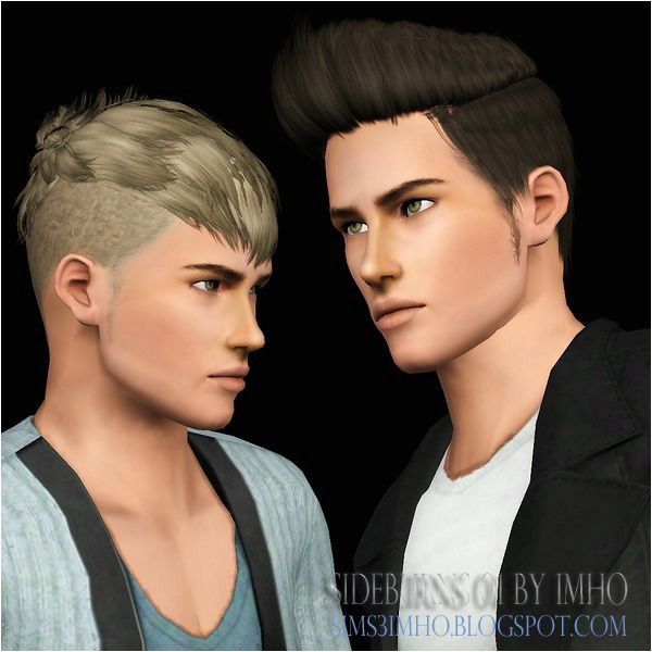 Sideburns 01 by IMHO Sims 3 Downloads CC Caboodle