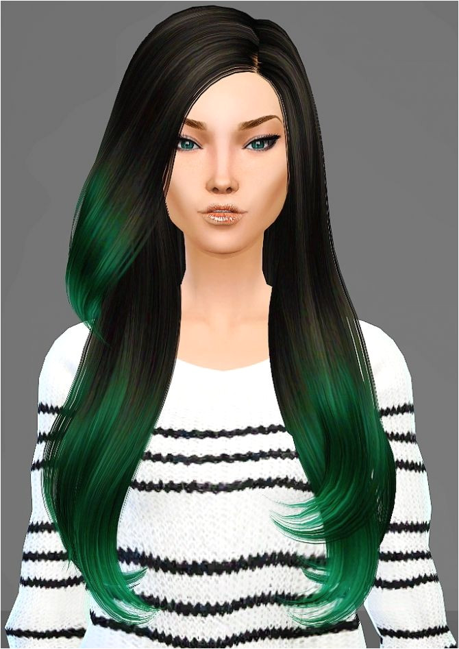Sims 4 Updates Artemis Sims Hairstyles B Flysims 092 hair retexture Custom Content Download