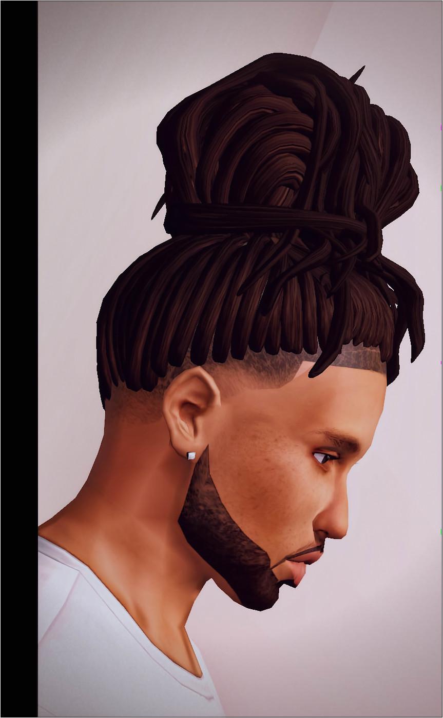 UrbanSimBoutique Sims 4 Hair Male Male Hair Dreads My Sims Sims Cc