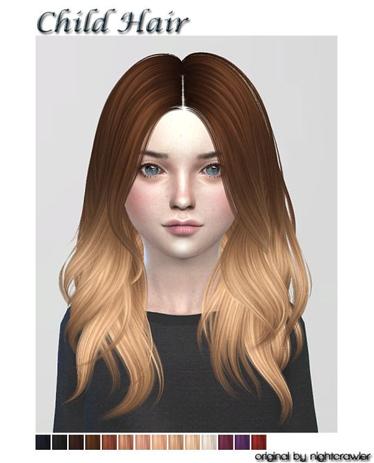Sims 4 Child Hairstyles Download Lana Cc Finds Kids Hair Fc Ts4 Hair Kids Cf