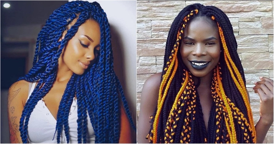 While some Nigerian fashionistas make unusual haircuts and paint their hair in bright colours other la s prefer Brazilian wool hairstyles