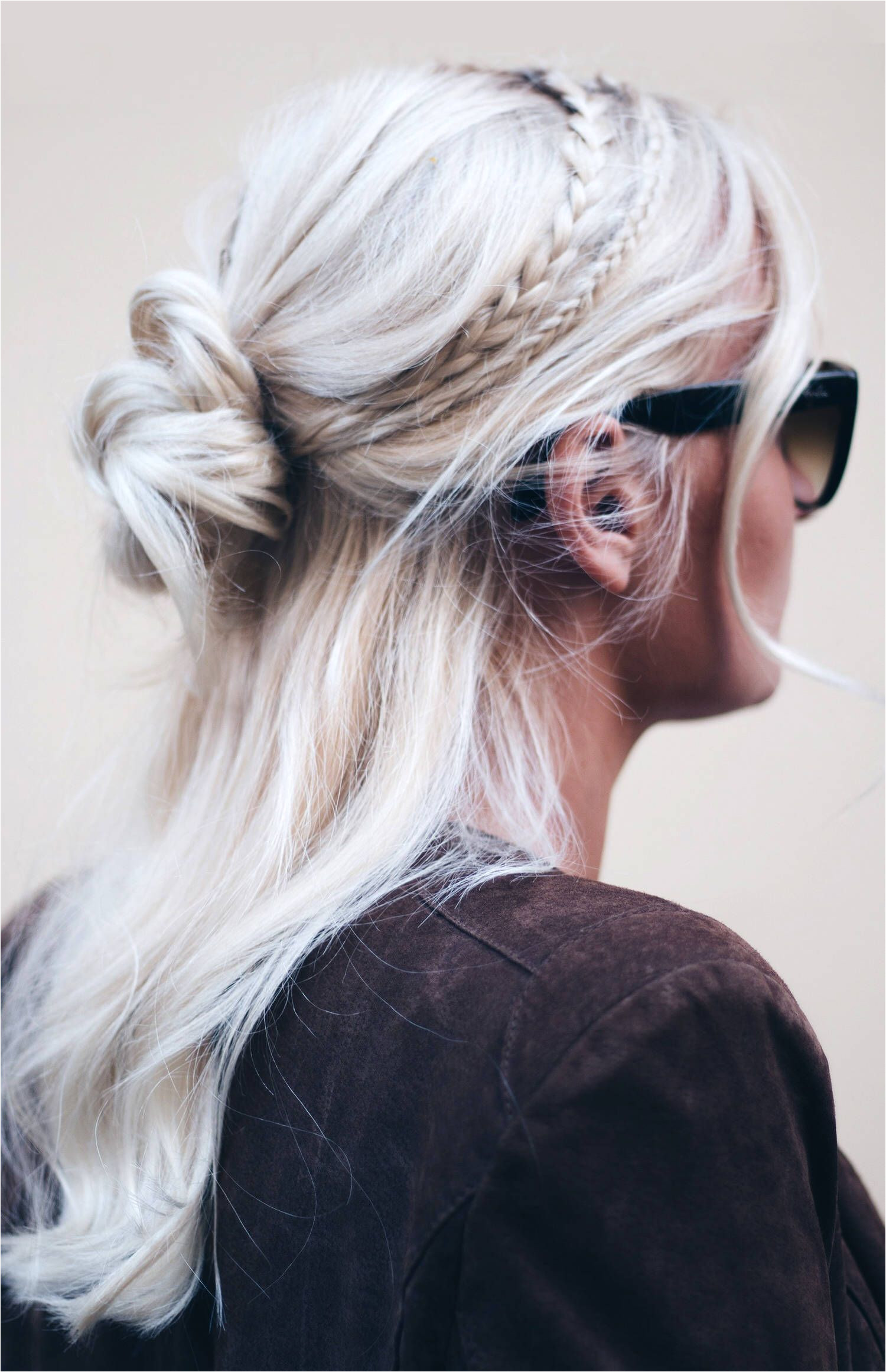 Super simple braided hairstyles