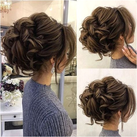 Drop dead gorgeous loose messy updo wedding hairstyle for you to inspired