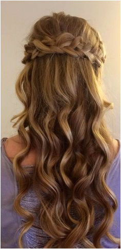 Cecilia s hair for prom