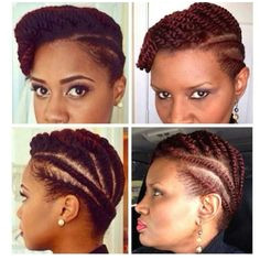 Flat twist updo Protective Hairstyles Protective Styles Natural Hairstyles Braided Hairstyles Hairdos